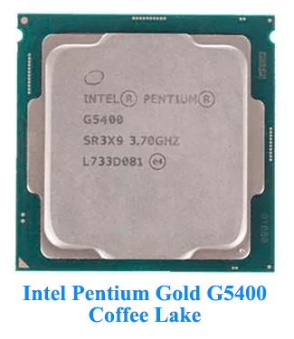 Intel Pentium Gold G5400 Coffee Lake