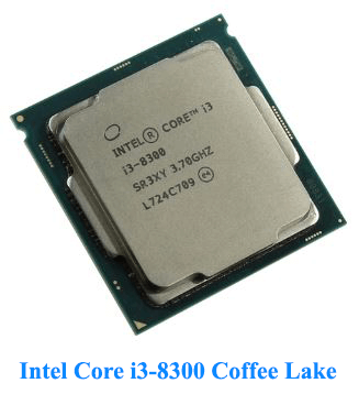 Intel Core i3-8300 Coffee Lake